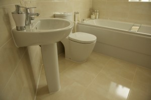 edmark cream bathroom ceramic tiles